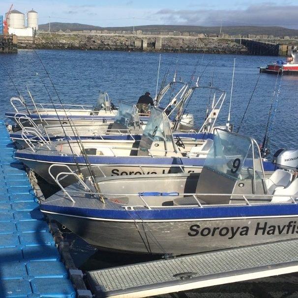 Wedkarstwo w Norwegii Serwisowa obsługa łodzi
