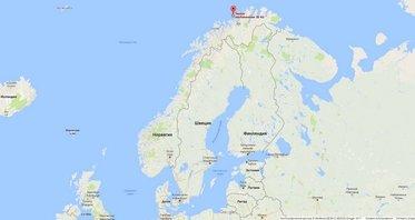 Wędkarstwo w Norwegii Soroya Havfiskesenter